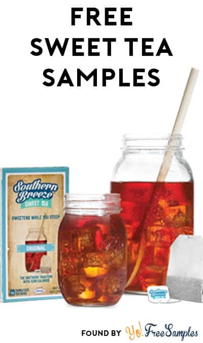 FREE Original & Peach Southern Breeze Sweet Tea Bags (Facebook Only / Not Mobile Friendly)