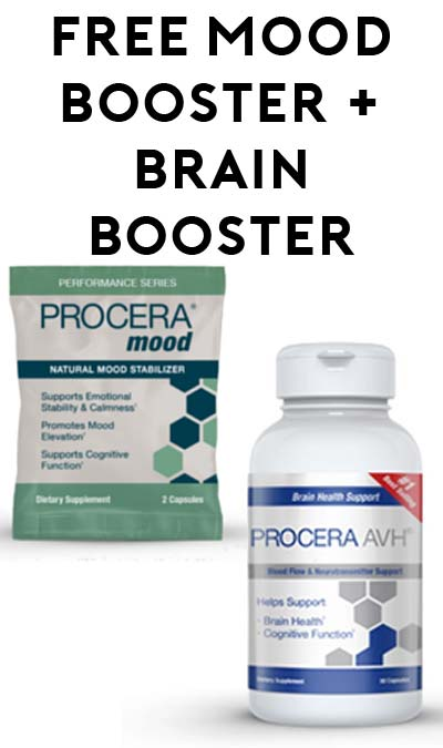 FREE Procera Mood Booster & Brain Booster Samples