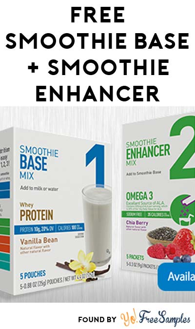 FREE Smoothie Base, Smoothie Enhancer & More – AR, LA, OK, TX Only (Apply To Host Party)
