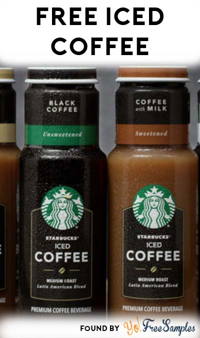 2 FREE Starbucks Iced Coffee at Target (Coupon Stacking Required)