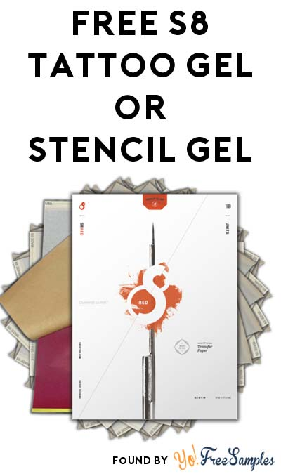 FREE Tattoo Gel or Stencil Gel From S8 Tattoo