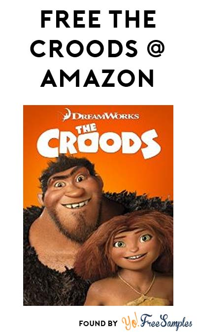 FREE The Croods HD On Amazon Instant Video
