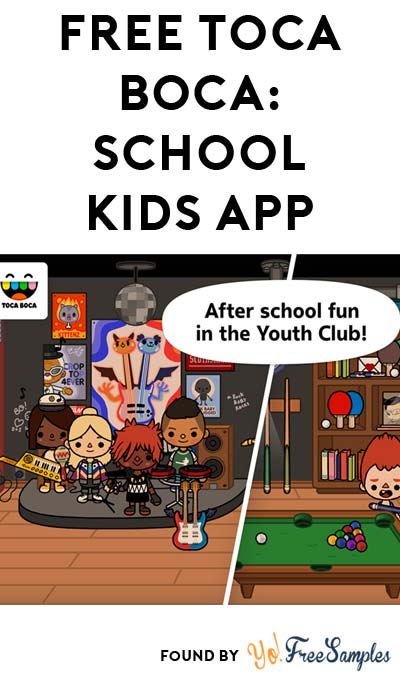 FREE Toca Life: School, A Kids Mobile App For iOS, Android & Windows ($2.99 Normally)