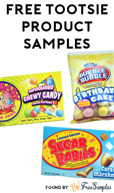 FREE Tootsie Candy Sample Pack For Approved Product Testers