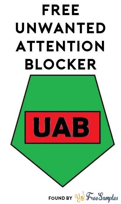 FREE Unwanted Attention Blocker – Annoying Behavior Blocker Button