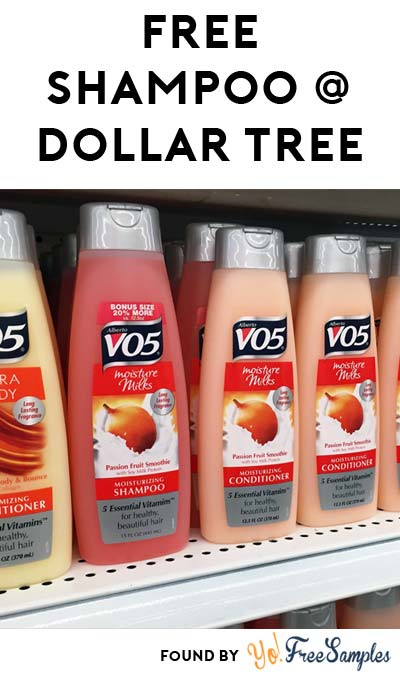FREE VO5 Shampoo / Conditioner (MobiSave Required)
