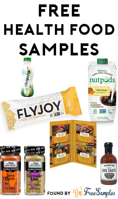 ENDS 1PM TODAY: FREE Week Of Wellness Samples For Yourself Including Numi Tea, Spice Hunter, FlyJoy Bars & More!