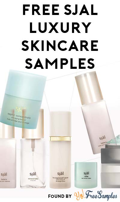 FREE själ Luxurious Skincare Samples