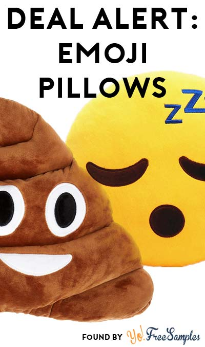 DEAL ALERT: Poop Emoji Pillow For $1.74 + Sleep Emoji Pillow For $1.92 + Purple Devil Pillow For $1.34 & FREE Shipping For All