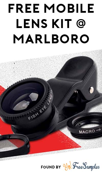 FREE Mobile Lens Kit From Marlboro