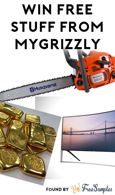 Enter Daily: Win FREE Chainsaws, Gold Bars, 4K TVs & More From The Grizzly Off The Grid Giveaway