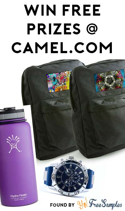 Enter Daily: Win FREE Prizes From Camel's Open Canvas Experience