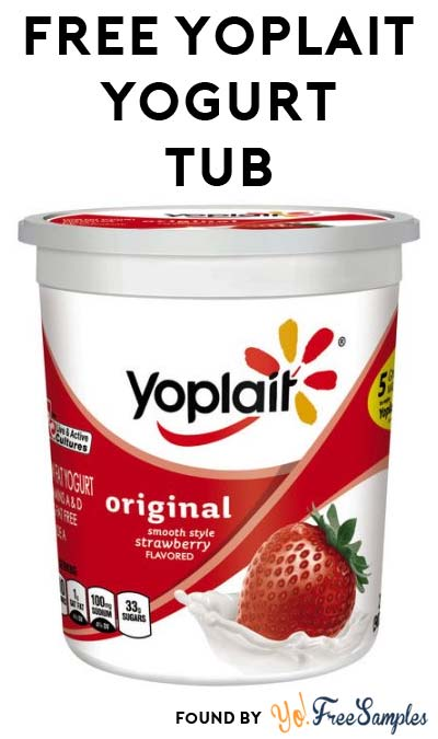 FREE 2lb Yoplait Low Fat Yogurt Tub For New Checkout51 Users