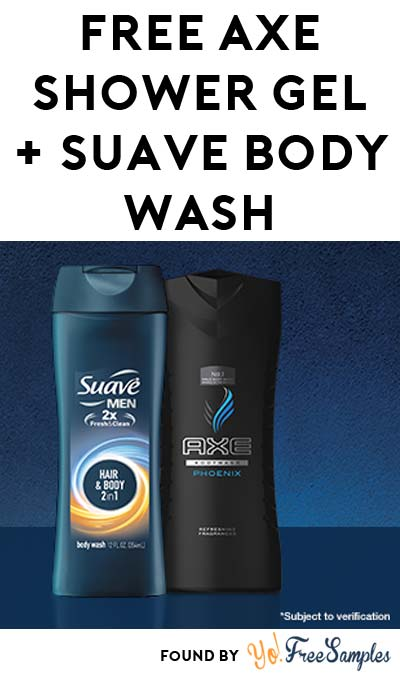 FREE Axe Shower Gel & Suave Body Wash From Family Dollar (Facebook Required / Not Mobile Friendly) [Verified Received By Mail]