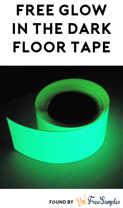 FREE Glow In The Dark Tape Sample
