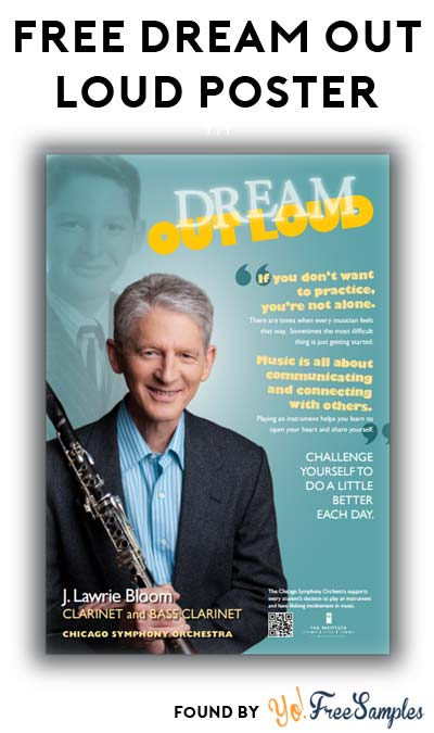 FREE Dream Out Loud Posters (Educators Only)