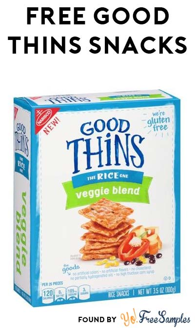 TODAY ONLY: FREE Good Thins Snacks At Kroger, Fry's, Ralphs, Dillons & Others