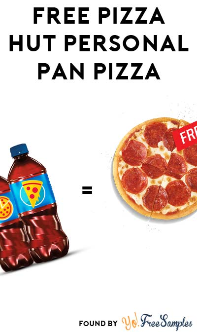 FREE Pizza Hut Personal Pan Pizza With PepsiMoji Bottle Purchase