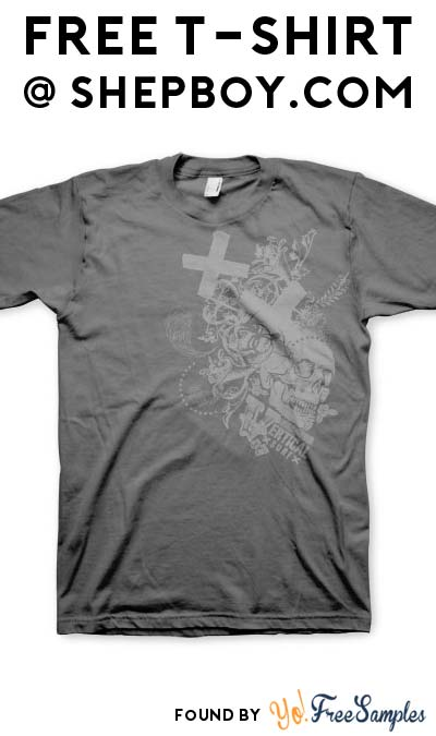 free t shirt from pastors or camp directors