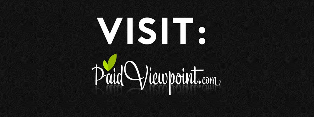 PaidViewpoint Sign Up