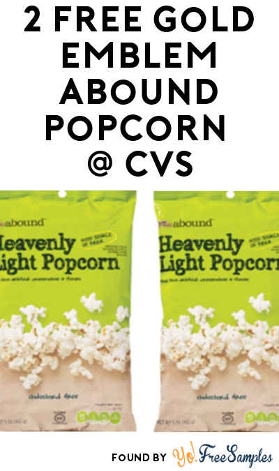 2 FREE Gold Emblem Abound Snacks at CVS (Coupon Required) [Verified In-Store]