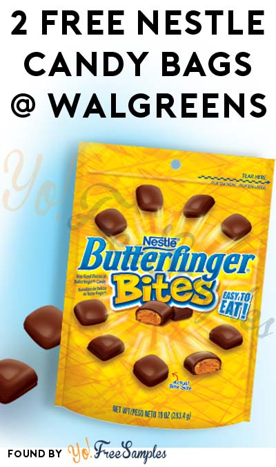 2 FREE Nestle Butterfinger Bites, Buncha Crunch & Other Candy Standup Bags After Rebate At Walgreens