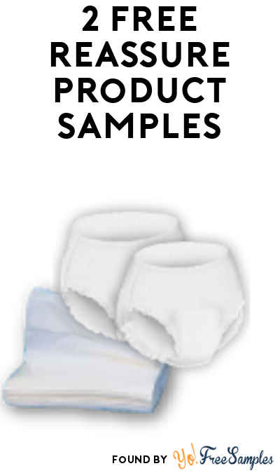 2 FREE Reassure Product Samples Including Briefs, Overnight Underwear, Washcloths & More!
