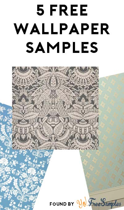 5 FREE Beautifully Designed Wallpaper Samples From Farrow & Ball