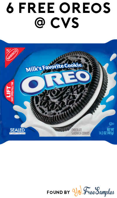 6 FREE Oreo Packs At CVS (Coupon & Checkout51 Required)