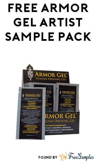 FREE Armor Gel Tattoo Wound Dressing Sample