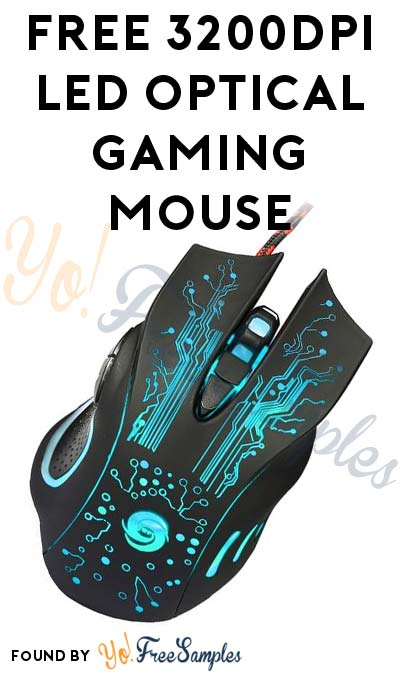FREE 3200DPI LED Optical Gaming Mouse