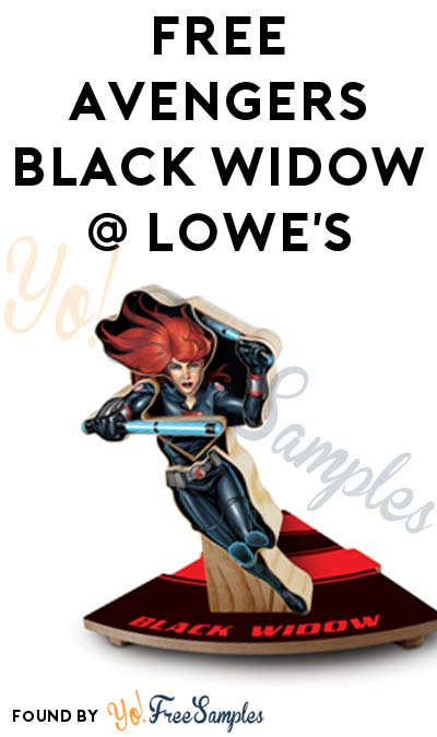 Registration Open: FREE Avengers Black Widow From Lowe's Build & Grow Clinic