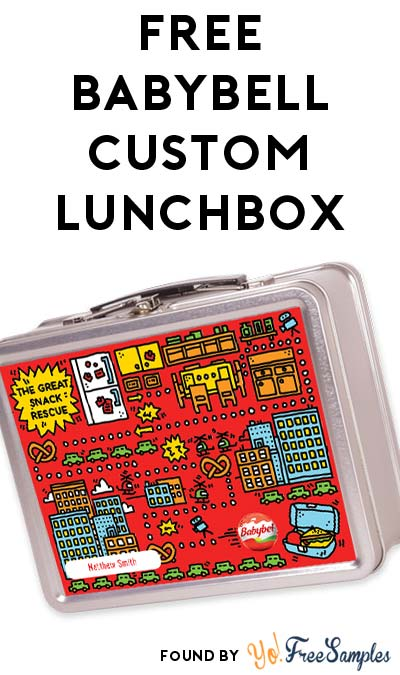 FREE Babybell Custom Lunchbox Daily Starting 7AM PST / 9AM CT / 10AM EST