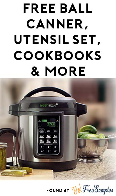 FREE Ball Enamel Water Bath Canner, 4 Utensil Set, BallBlue Book Cookbooks & More (Apply To Host Party)