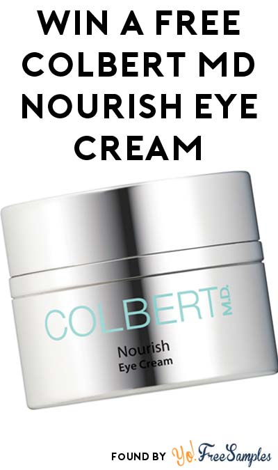 FREE Colbert MD Nourish Eye Cream From Allure At 12PM EST Today