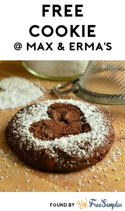 FREE Cookie From Max & Erma's