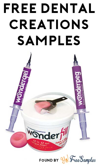 FREE Dental Creations Product Samples (Dentist Professionals Only)