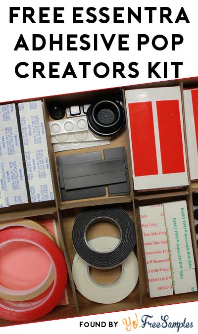 FREE Essentra Adhesive Pop Creators Kit (Companies Only)