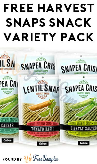 FREE Harvest Snaps Variety Pack (15 Minute Survey Required)