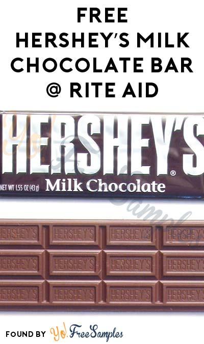 FREE Hershey's Milk Chocolate Bar At Rite Aid (SavingStar Required)
