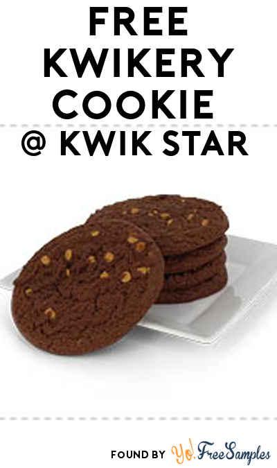 FREE Kwikery Cookie From Kwik Star / Kwik Trip July 7th