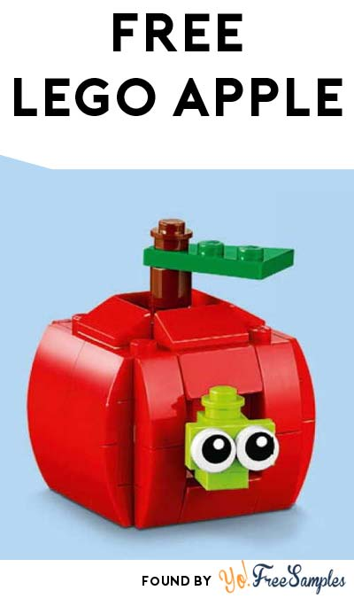 FREE LEGO Apple From Mini Model Build Event August 2nd/3rd 2016