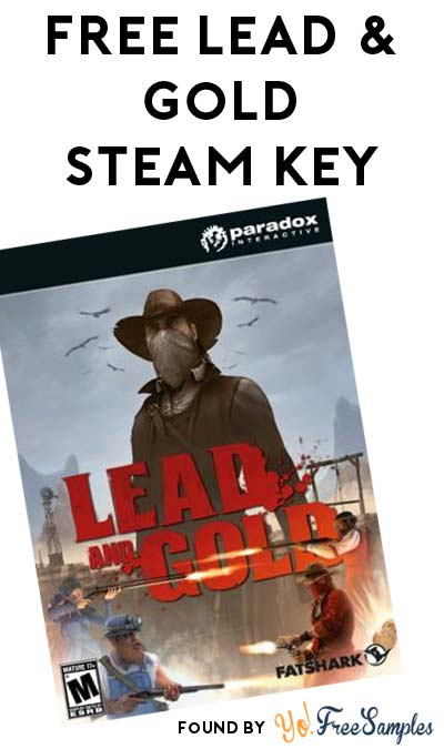 FREE Lead and Gold: Gangs of the Wild West Game (Twitter & Steam Required)