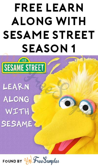 FREE Learn Along With Sesame Street Season 1 On Amazon