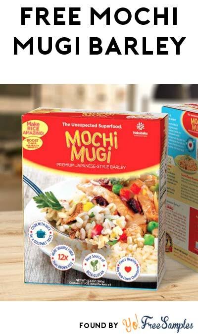 FREE Mochi Mugi Premium Japanese-Style Barley Sample