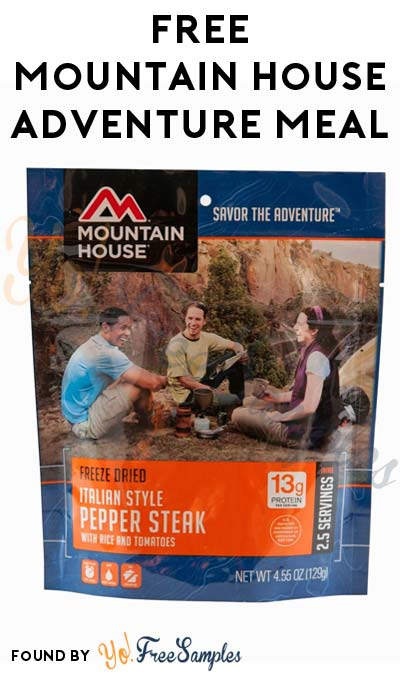 FREE Mountain House Freeze Dried Adventure Meal After Rebate