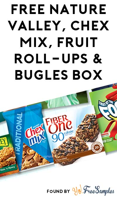 FREE Nature Valley, Chex Mix, Fruit Roll-ups, Bugles Box & More (Apply To Host Party)