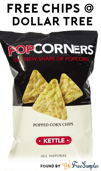 FREE Popcorner Chips At Dollar Tree (MobiSave Required)