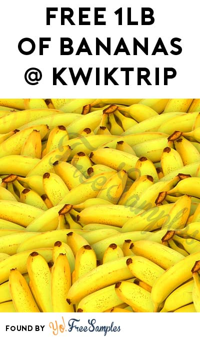 FREE Pound of Bananas At Kwik Trip & Kwik Star Stores On 7/29