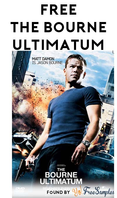 FREE The Bourne Ultimatum HD From FandangoNow